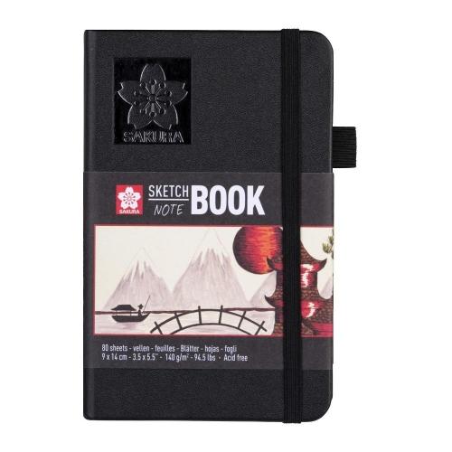 Σημειωματάριο 9x14cm Sakura 80φ sketchbook