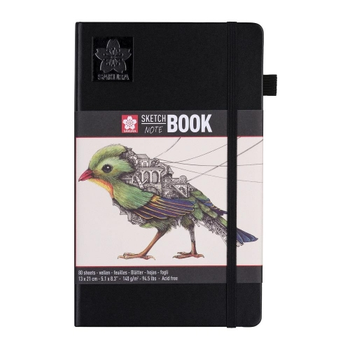 Σημειωματάριο 13x21cm Sakura 80φ sketchbook