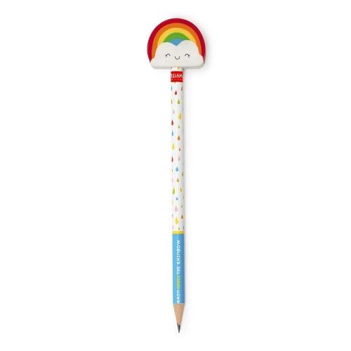Μολύβι με γόμα Legami VRAIN0001 Rainbow