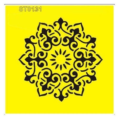 Στένσιλ πλαστικό Next 16x16 μοτίβο 6 ST0131A
