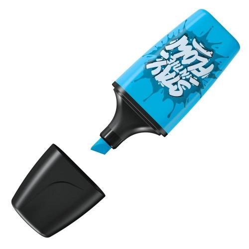 Υπογραμμιστής Stabilo mini μπλε