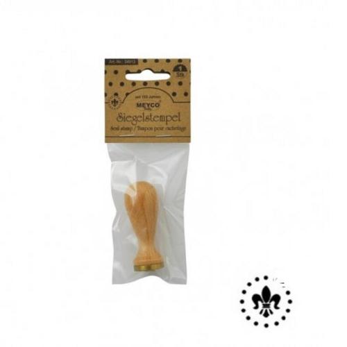 Σφραγίδα για βουλοκέρι λουλούδι Meyco 34912