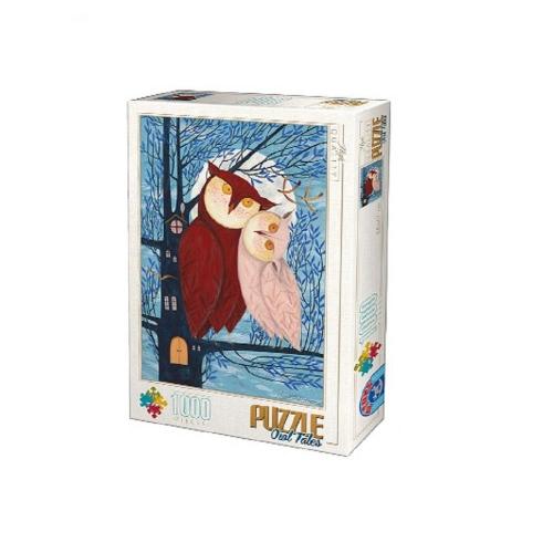 Παζλ D-Toys Kurti Andrea Owl Tales 01 68x47cm 1000 κομ.