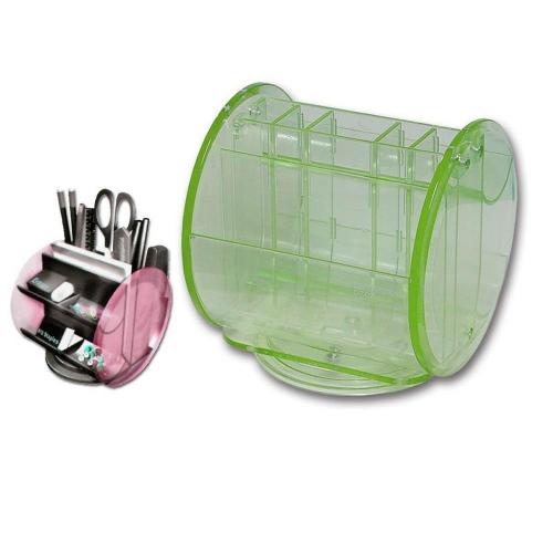 Μολυβοθήκη πλαστική περιστρεφόμενη Leetack πράσινη