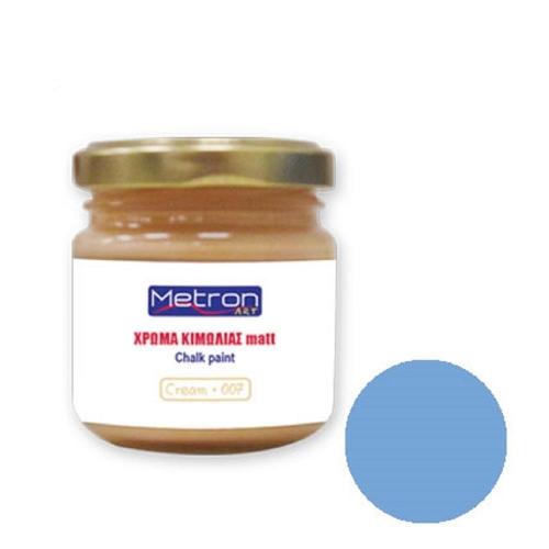 Χρώμα κιμωλίας Metron 110 ml pale blue