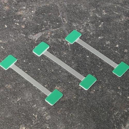 Wobbler αλουμινίου για προβολή σε ράφι 7,5 cm 100 τεμ.