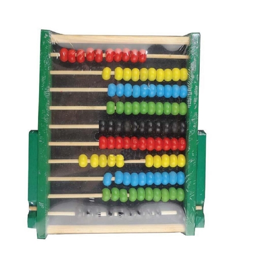 Αριθμητήριο ξύλινο άβακας 19,5x15,7x1,4 cm