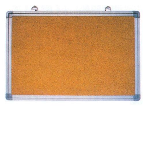 Πίνακας φελλού 80x120 cm πλαίσιο αλουμινίου