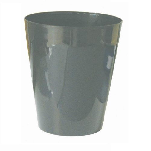 Καλάθι αχρήστων πλαστικό Ark γκρι 10L