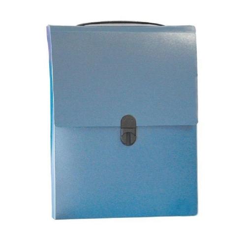 Τσάντα συνεδρίου όρθια 32x24x5 cm Next PP μπλε