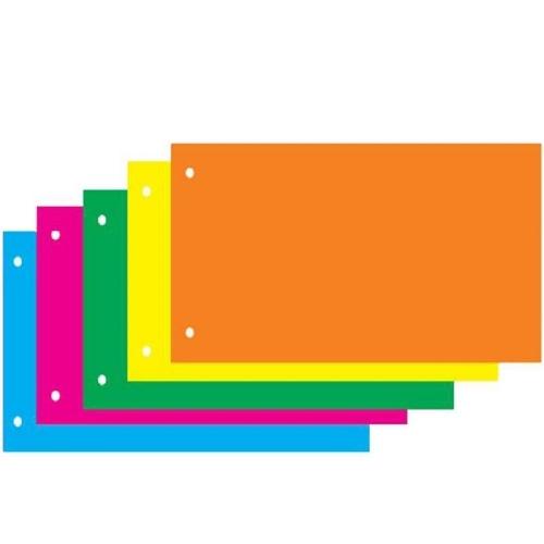Διαχωριστικά οριζόντια πολύχρωμα Next 100 τεμ