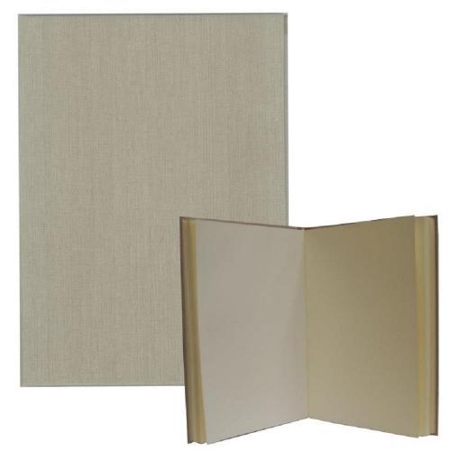 Βιβλίο ευχών εντυπώσεων μπεζ Α4 80 φύλλα σαμουά 120gr
