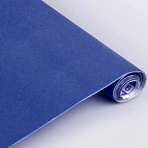 Βελουτέ αυτοκόλλητο ρολό 0,45 /1m Sadipal μπλε