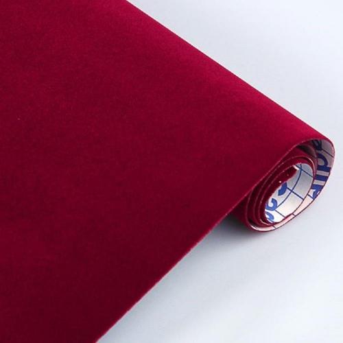 Βελουτέ αυτοκόλλητο ρολό 0,45 /1m Sadipal κόκκινο
