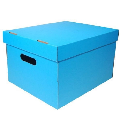 Κουτί αποθήκευσης Α4 Next fabric γαλάζιο