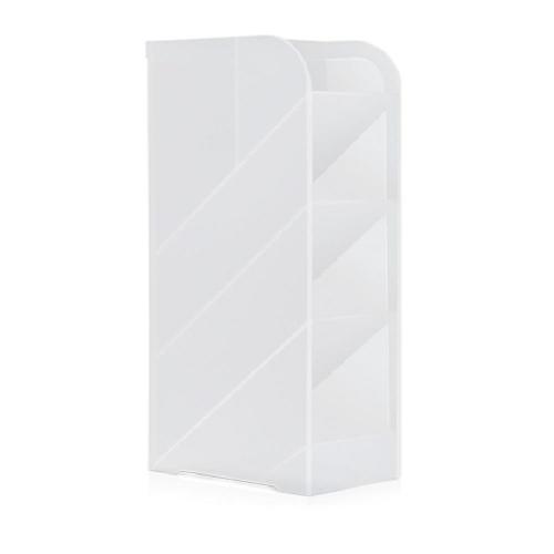 Μολυβοθήκη πλαστική Deli 5 θέσεων γαλακτερή