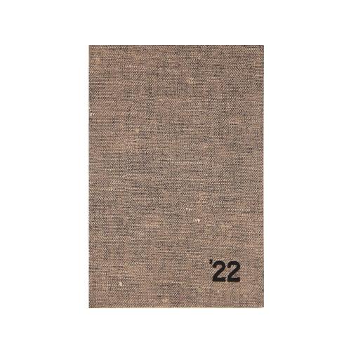 Ημερολόγιο 2022 12x17 Ekdosis Flax μπεζ σκούρο