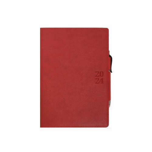 Ημερολόγιο 2022 14x21 Ekdosis Horse με στυλό κόκκινο