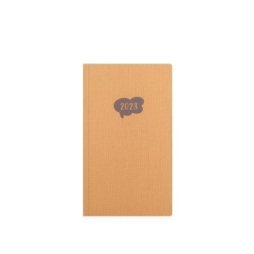 Ημερολόγιο 2022 8x14 εβδομαδιαίο Ekdosis No mad κίτρινο