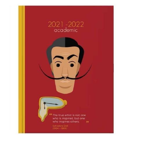 Ημερολόγιο ακαδημαϊκό 14x21 εβδομ. fama Dali 2022