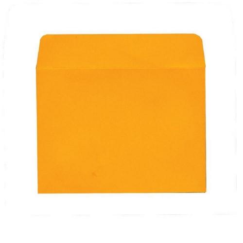 Φάκελα αλληλογραφίας 17x17 20 τεμ. πορτοκαλί πολυτελείας