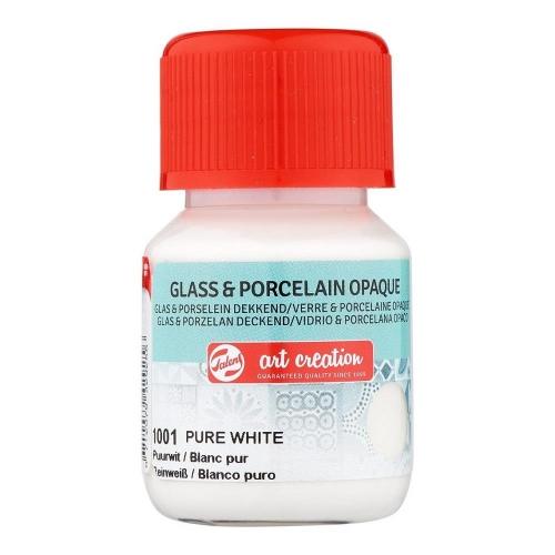Art Creation glass & porcelain 30 ml 1001 opaque pure white