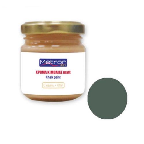 Χρώμα κιμωλίας Metron 110 ml dark green