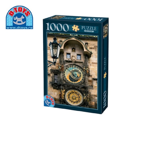 D-TOYS ΠΑΖΛ 1000Τ 68x47cm PRAGUE REPUBLIQUE TCHEQUE