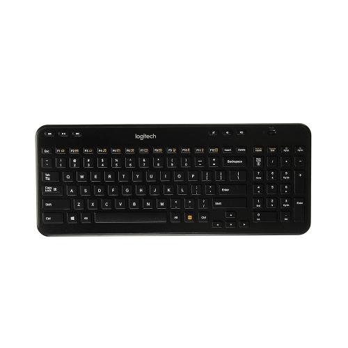 Logitech K360 Keyboard (Black, Wireless)  920-004088