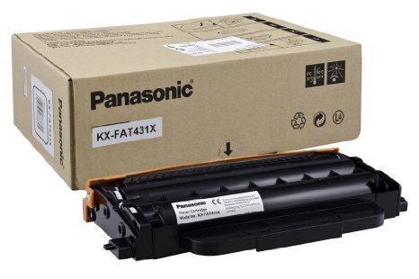 Toner Fax Panasonic KX-FAT431X - 6k Pgs