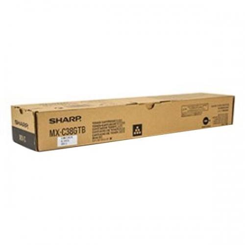 Toner Copier Sharp MX-C38GTΒ Black - 10K Pages