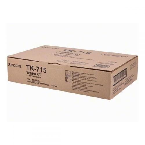Toner Copier Kyocera TK-715  Black - 34K Pgs