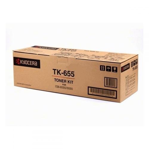 Toner Copier Kyocera TK-655 Black  -47K Pgs