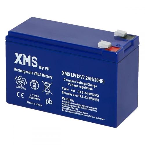 Batteries XMS LP 12V 7.2Ah