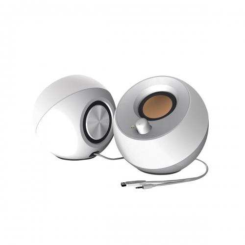 Creative Pebble 2.0 Speakers USB (White)