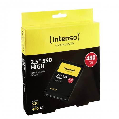 Internal SSD Intenso 480GB 2.5'' SATA III High