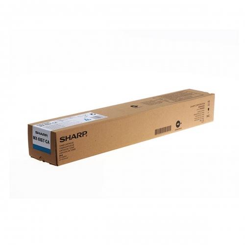 Sharp toner cartridge MX-61GTCA Cyan 24K pgs