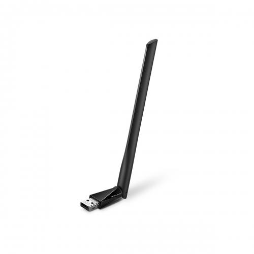 Mercusys AC650 High Gain Wireless Dual Band USB Adapter - MU6H