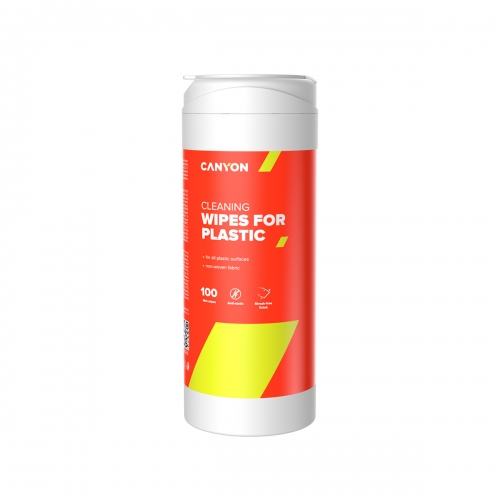 Canyon Plastic Cleaning Wipes 100 wipes - CNE-CCL12
