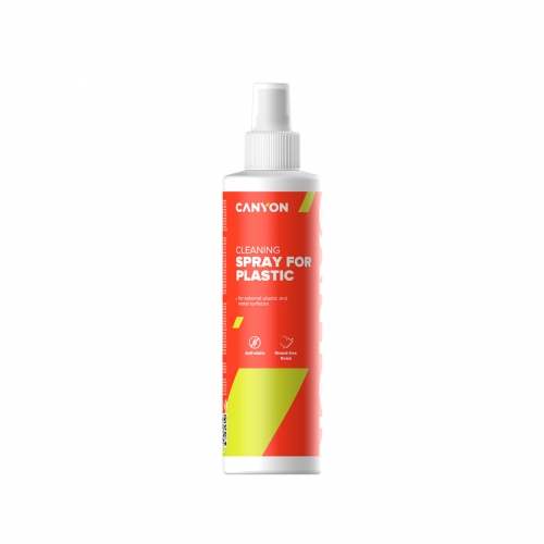 Canyon Plastic Cleaning Spray, external plastic, metal surfaces - CNE-CCL22