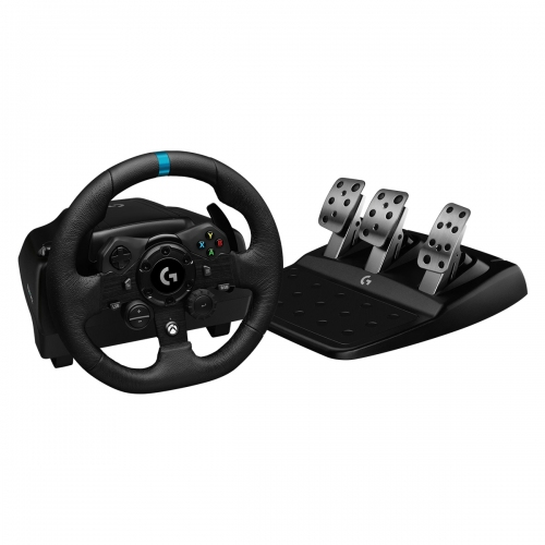 Logitech G923 Trueforce Sim Racing Wheel with pedals  PS4,PS5,PC (941-000149)