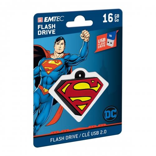 Emtec Flash USB 2.0 Collector DC Superman 16GB - ECMMD16GDCC01
