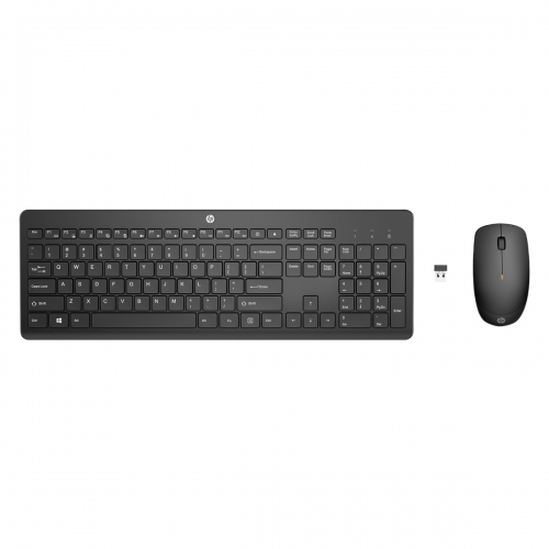 HP 300 Wireless Keyboard and Mouse Greek White - 3L1F0AA