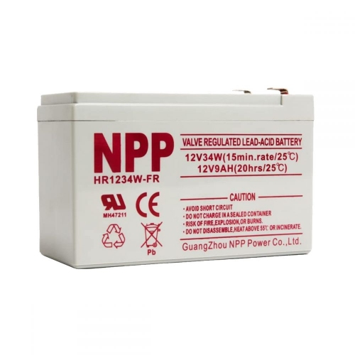 Batteries NPP 12V 34W (12V9Ah) High Rate