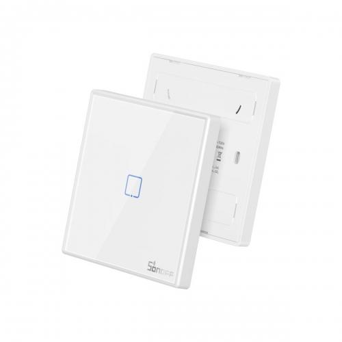 Sonoff T2EU1C-RF Sticky Wireless Smart Wall Switch 1-Channel, RF, Διακόπτης Τοίχου - M0802030009