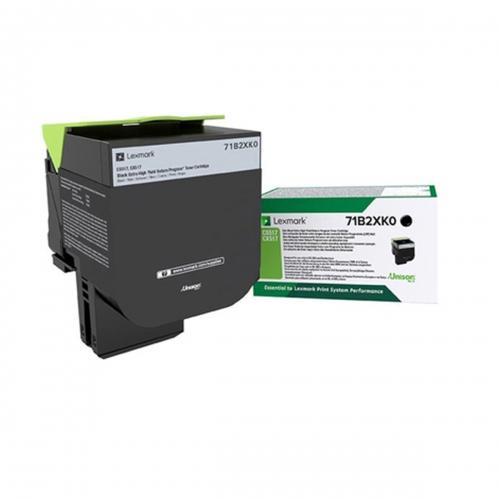 Toner Laser Lexmark 71B2XK0 Extra High Yield Black -8k Pgs