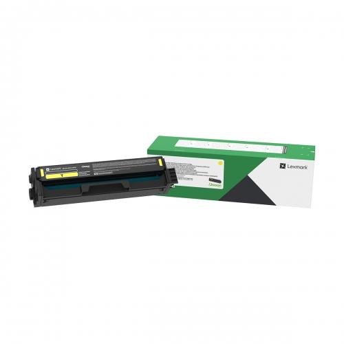Toner Laser Lexmark 20N20Y0 Standard Yellow -1.5k Pgs