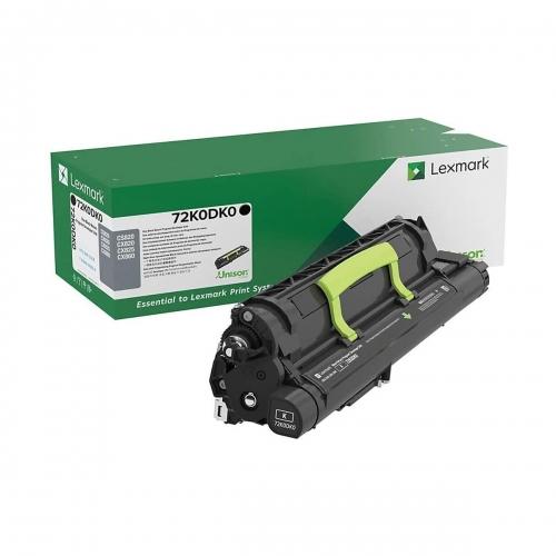 Developer Unit Laser Lexmark 72K0DK0 Black -300k Pgs