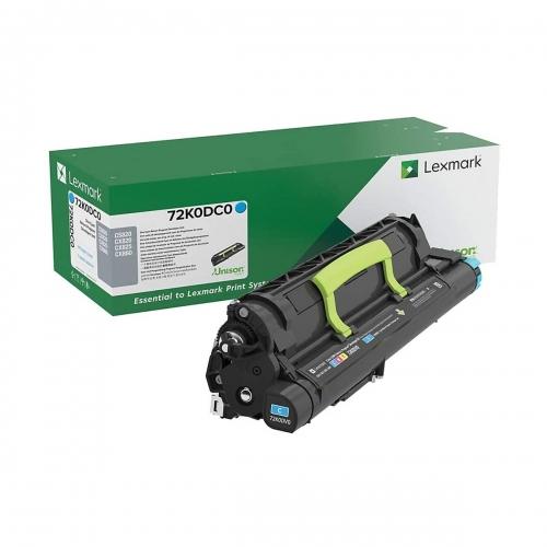 Developer Unit Laser Lexmark 72K0DC0 Cyan -300k Pgs