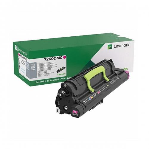 Developer Unit Laser Lexmark 72K0DM0 Magenta -300k Pgs